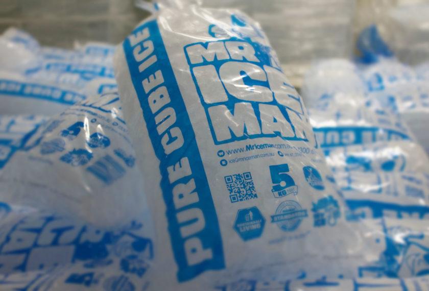 Mr Iceman Sydney Bagged Ice